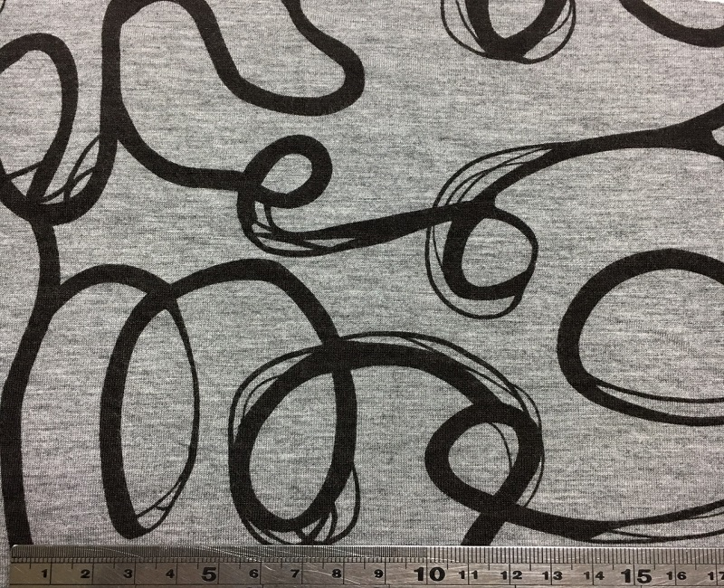 NC-1478 100% Rayon viscose printed fabric